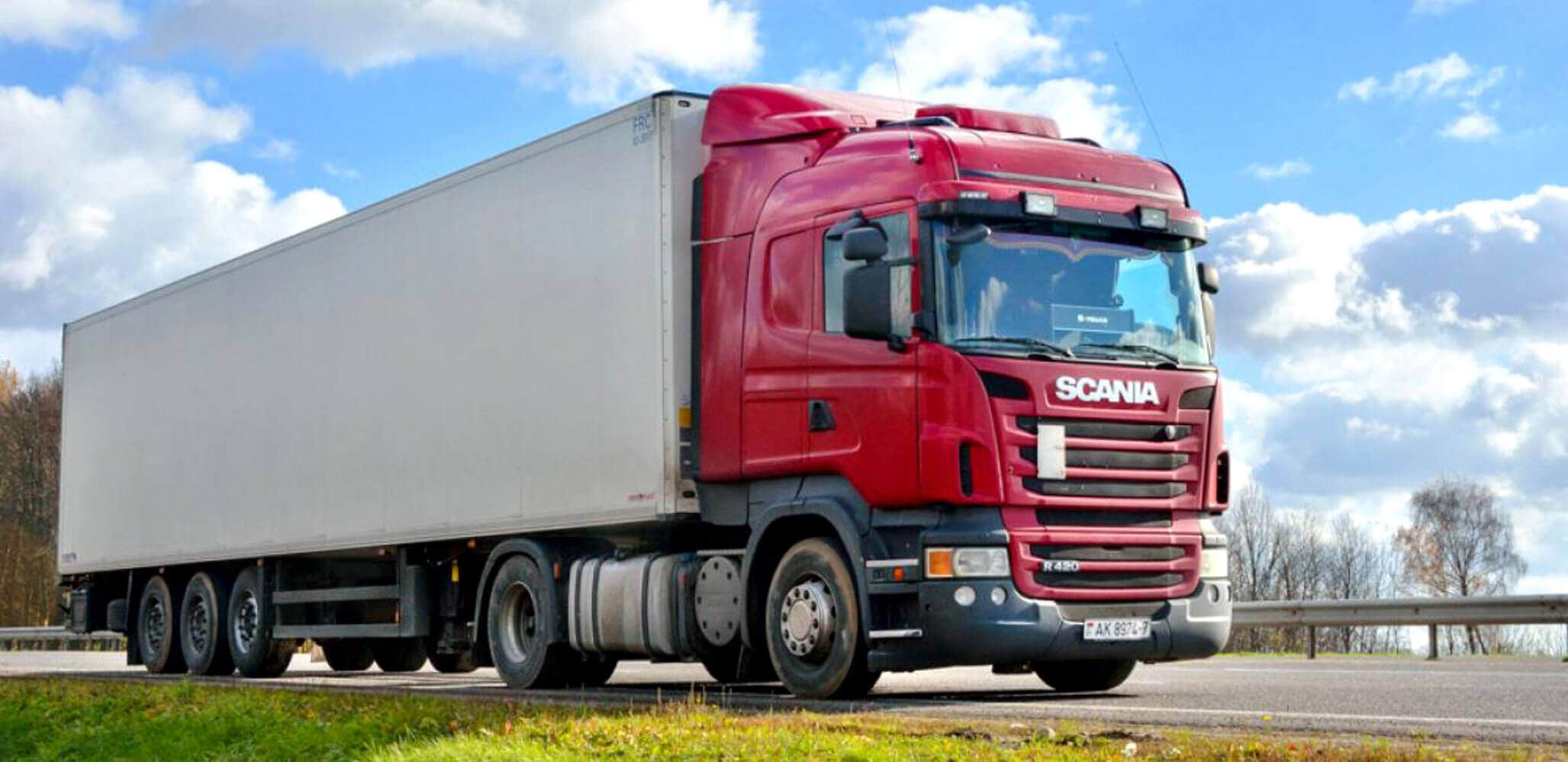 skania truck