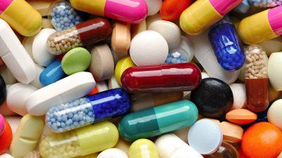 Общее фото лекарств